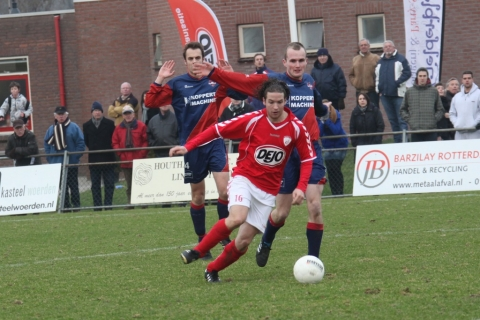 Sport foto's Sportlust '46, SC Woerden en VVV Montfoort