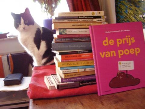 De winter door met boeken