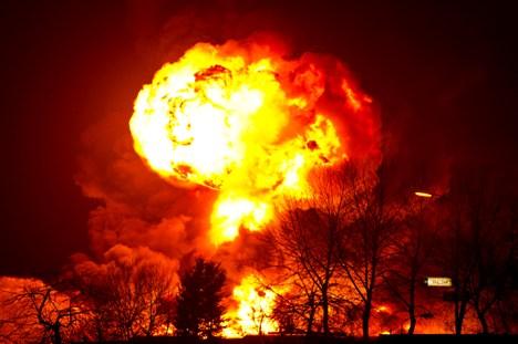 Onderzoek naar roetdeeltjes brand Moerdijk