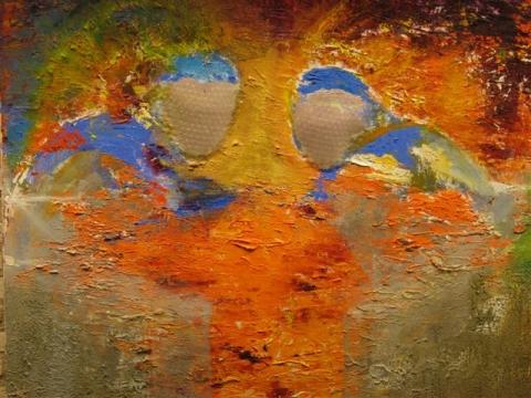 Kunst in de bieb in Harmelen