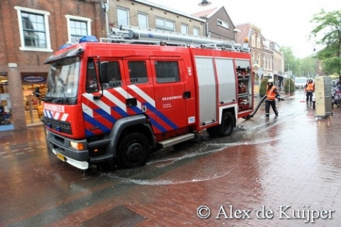 Wateroverlast in Woerden