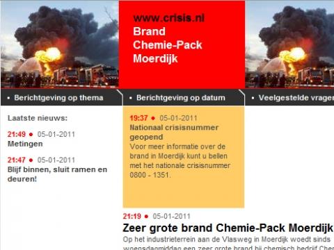 Crisis.nl: Ramen en deuren in Woerden dicht.