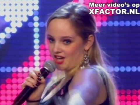 Saja uit Montfoort in X Factor