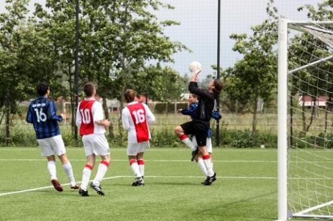 Verlies voor tweede elftal SC Woerden