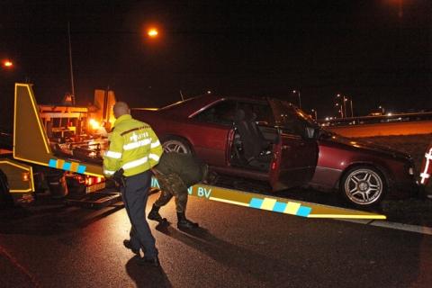 Drugs in verdachte auto