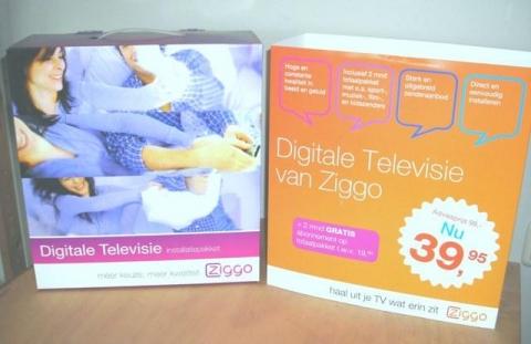 Ziggo past TV pakket aan