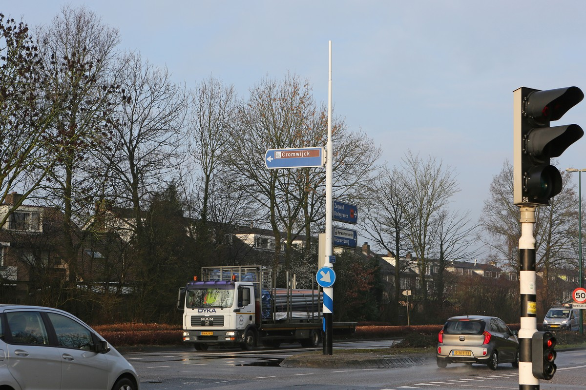 Werkzaamheden kruising Hollandbaan-Waardsebaan later van start