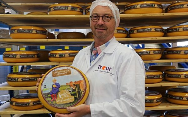 Treur pakt goud tijdens internationale kaaswedstrijd