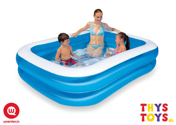 We geven een zwembad weg woerden tv for Blokker zwembad