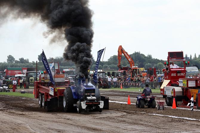 Tractors kieken in Montfoort