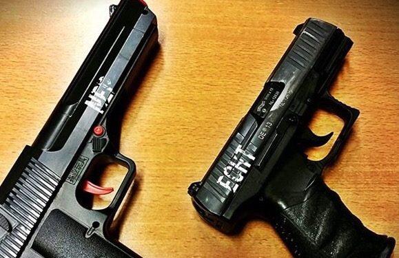 12-jarige zwaait met nep pistool op schoolplein