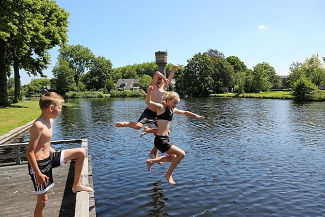 Pas op voor gevaarlijke stroming tijdens het zwemmen