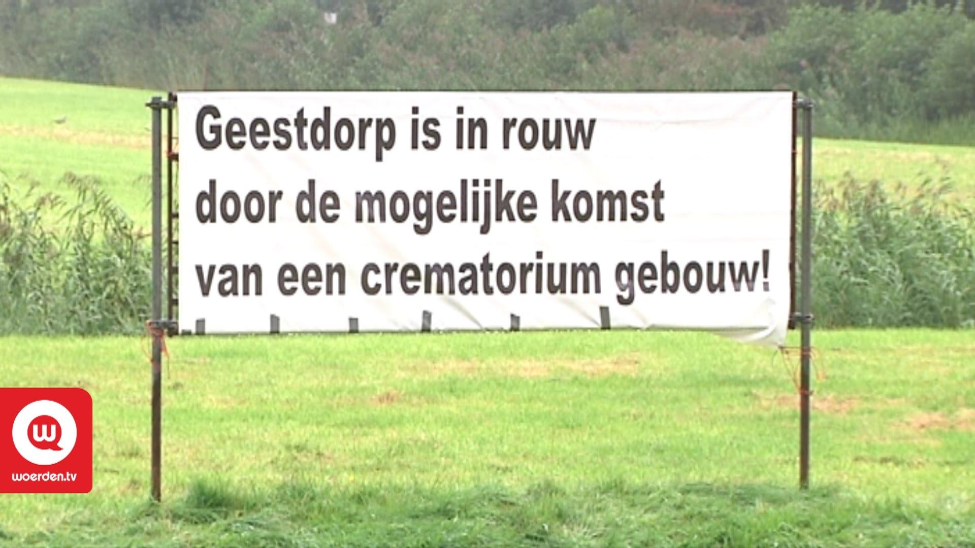 Raad Woerden blokkeert crematorium Geestdorp