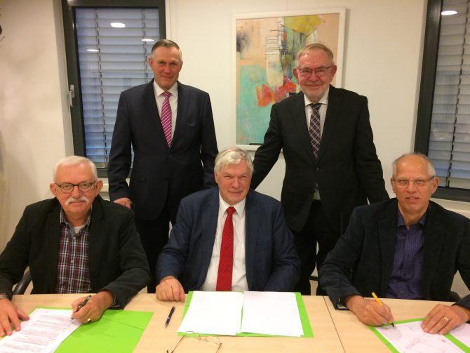Beheers-en onderhoudsovereenkomst Begraafplaatsen Montfoort ondertekend