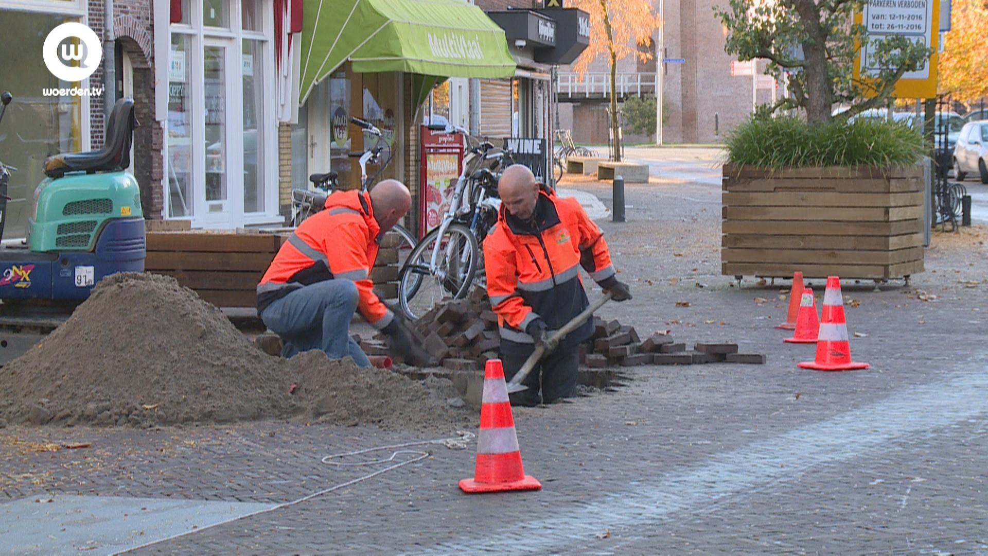 Rijnstraat per 24 december afgesloten voor autoverkeer