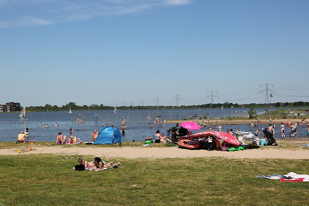 Geen blauwalg in Cattenbroekerplas