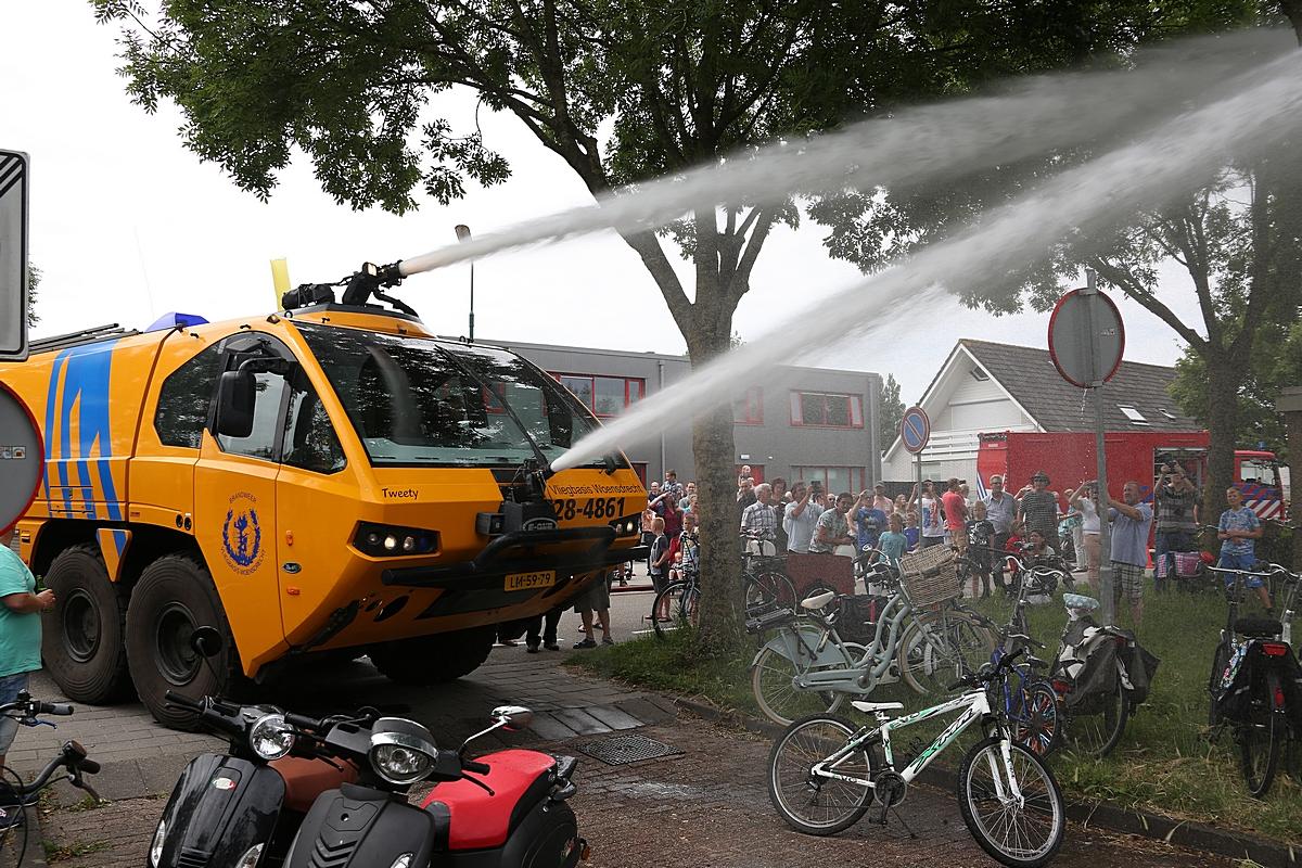 Brandweer zet deuren open van nieuwe post Linschoten