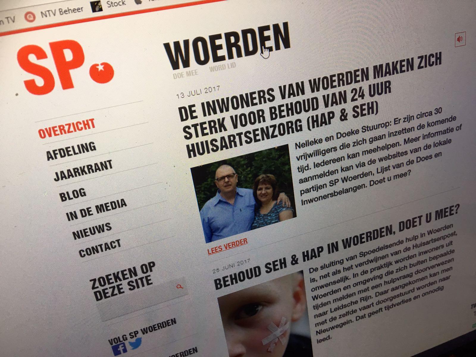 SP Woerden neemt deel aan verkiezingen