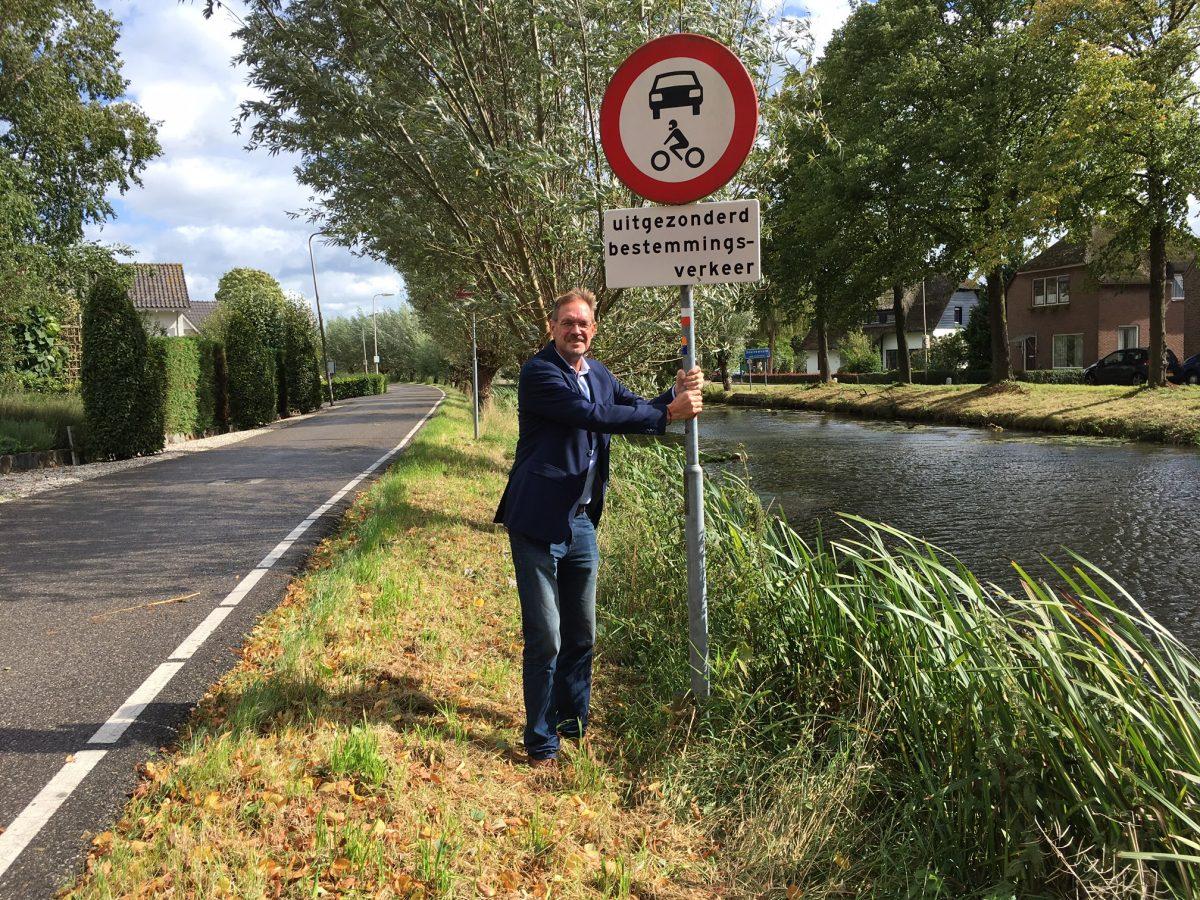 Geen doorgaand verkeer meer langs de Lange Linschoten