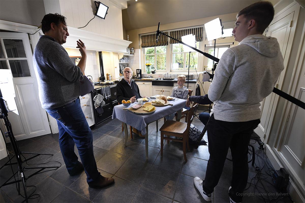 Bram van der Vlugt binnenkort in kaasfilm