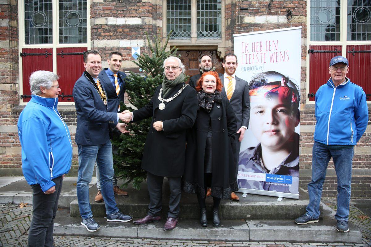 Kerstbomen verkoop voor goede doelen