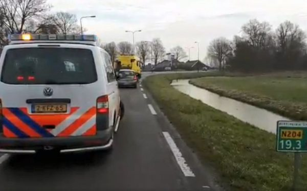Gewonde na aanrijding op M.A. Reinaldaweg
