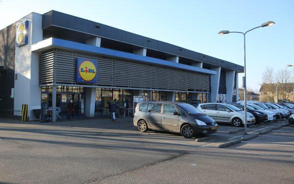 Mogelijk Lidl supermarkt op Middelland