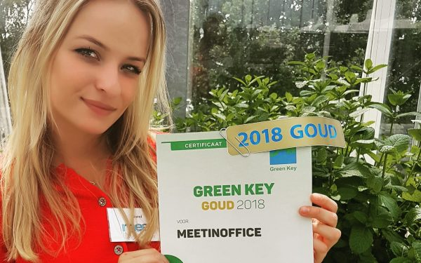 Green Key goud voor MeetINoffice