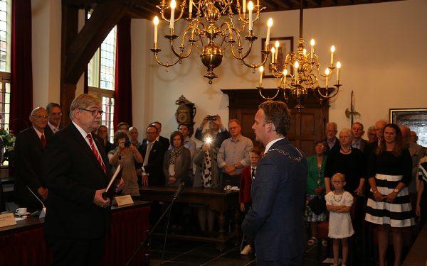 Pieter Verhoeve herbenoemd als burgemeester