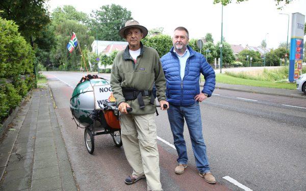 """Groningse actievoerder tegen gasboringen: """"Laat Woerden niet zakken"""""""