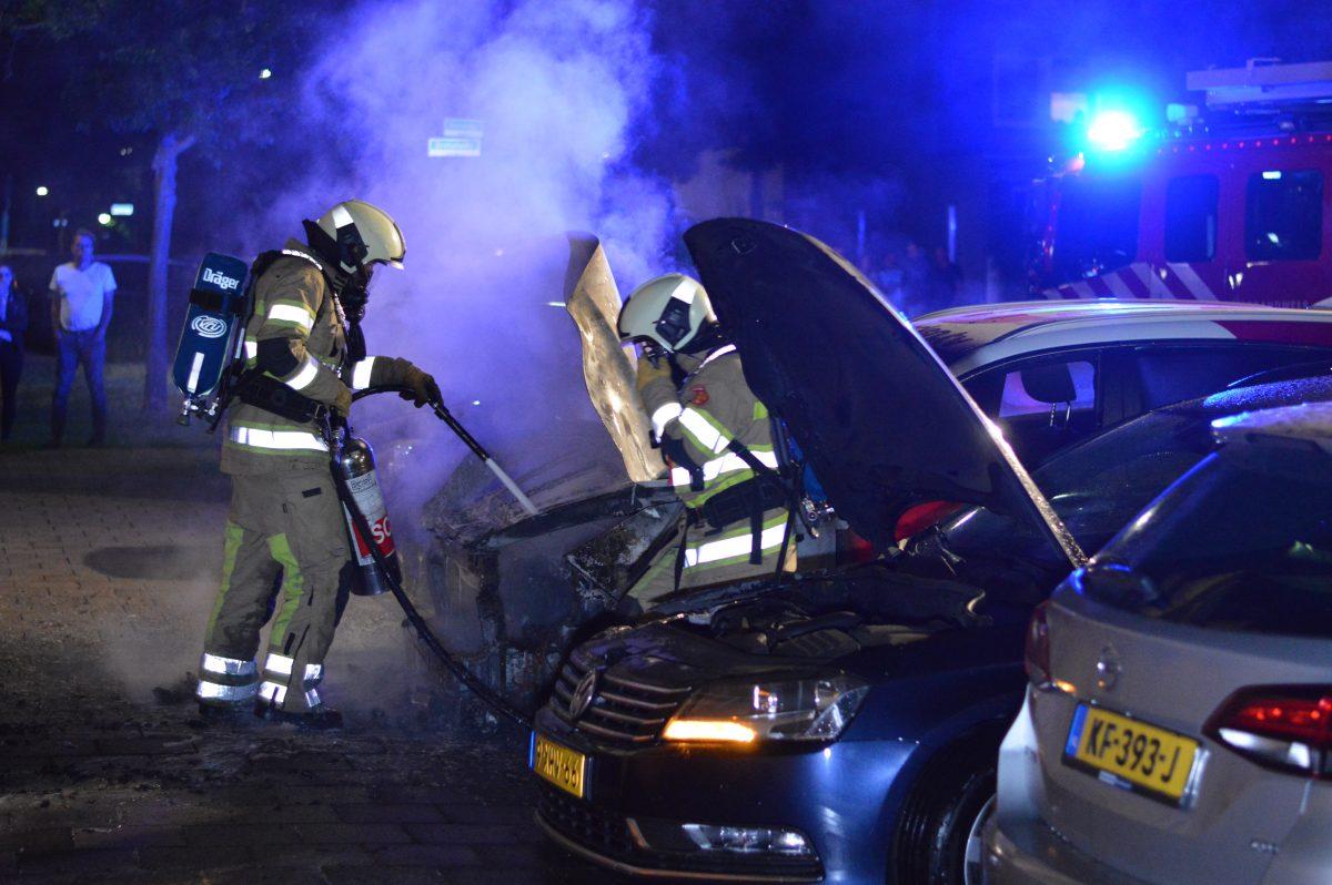 Woerdense VVD maakt zich zorgen over autobranden