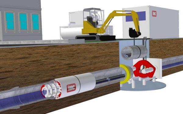 Woerdens bedrijf ontwikkelt 'pipe-eater' die leidingen opeet en aanlegt