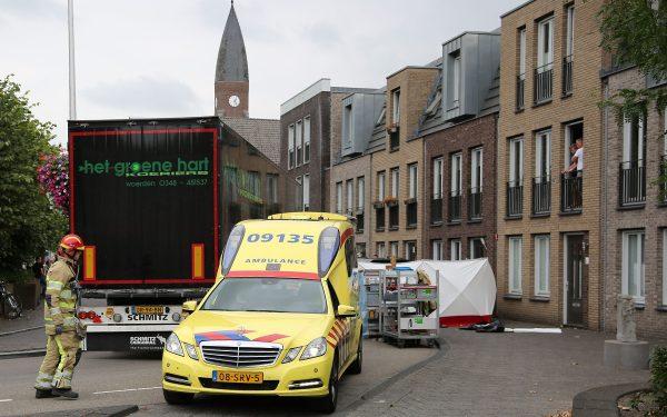 Slachtoffer vrachtwagenongeluk heeft ernstig beenletsel