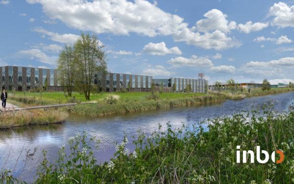 Nieuw ontwerp voor bedrijventerrein langs A12, veel groen en water