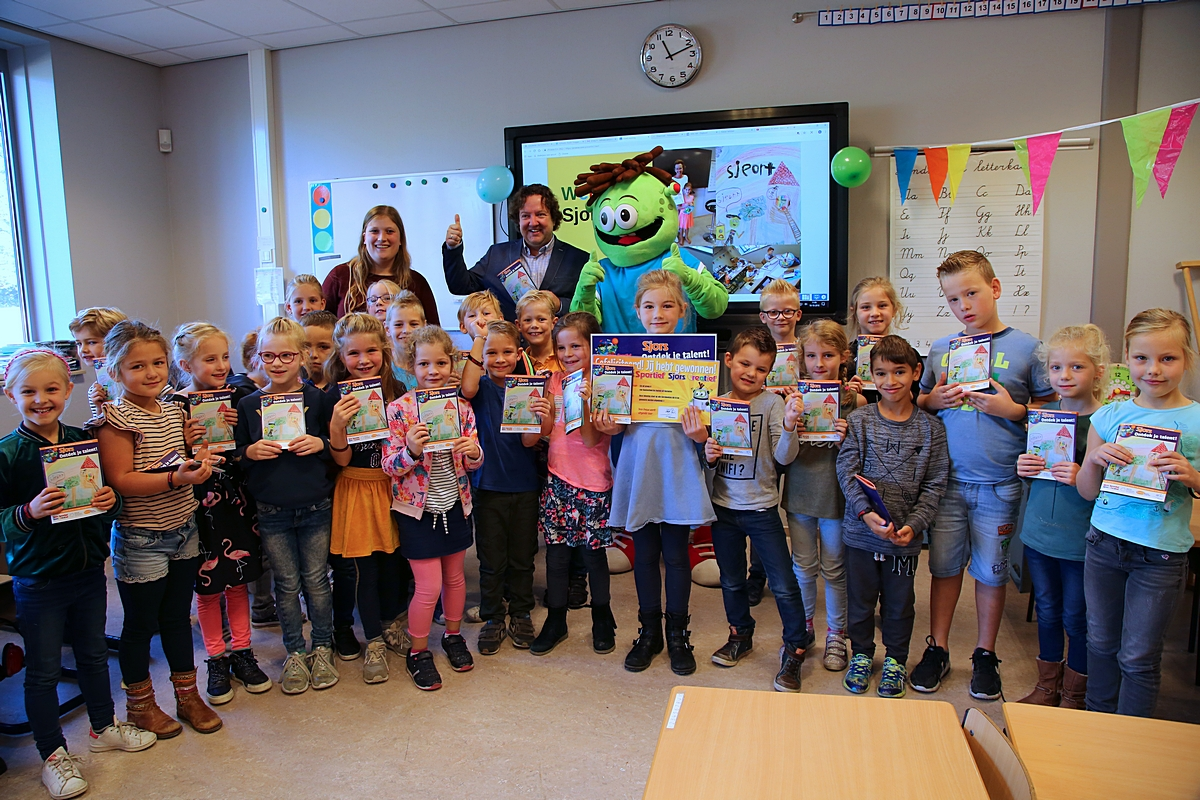 Kinderen ontdekken hun interesses met behulp van 'Sjors'