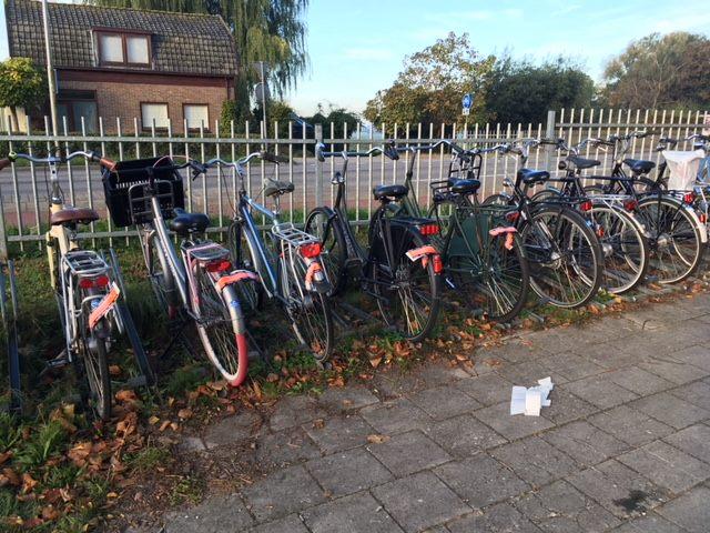 Gemeente Oudewater gaat overlast van fietsen bij Molenwal aanpakken