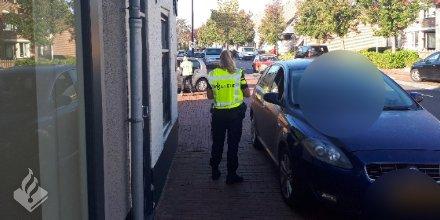 Politie deelt bekeuringen uit bij verkeerscontroles in Harmelen