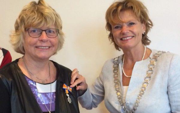 Koninklijke Onderscheiding voor Mia van Jaarsveld uit Montfoort