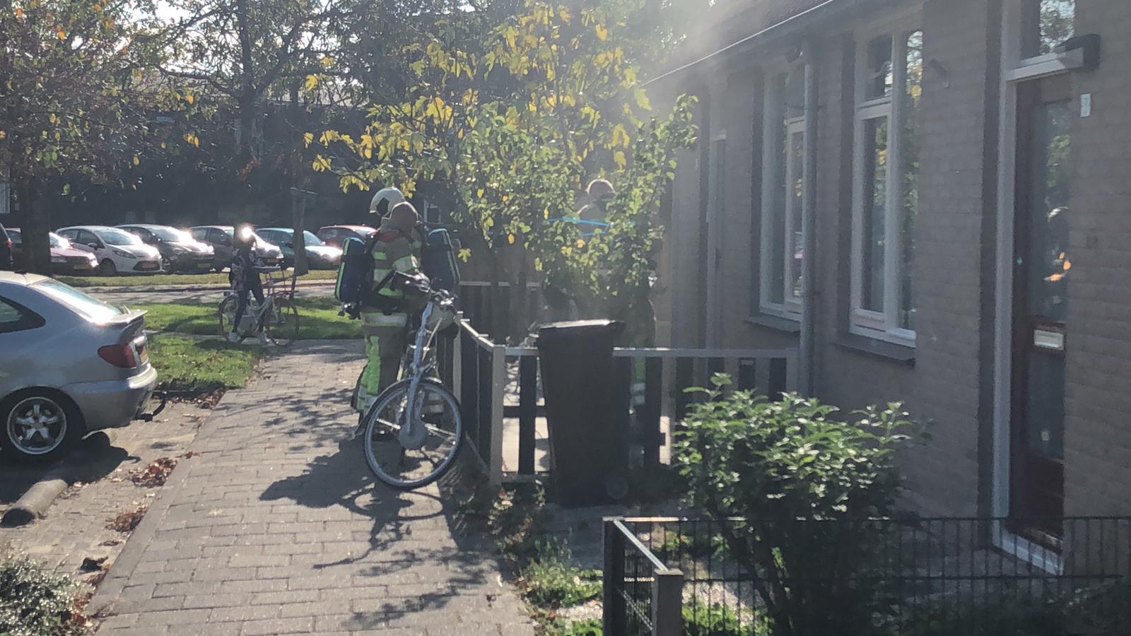 Pannetje op het vuur veroorzaakt keukenbrand in Linschoten