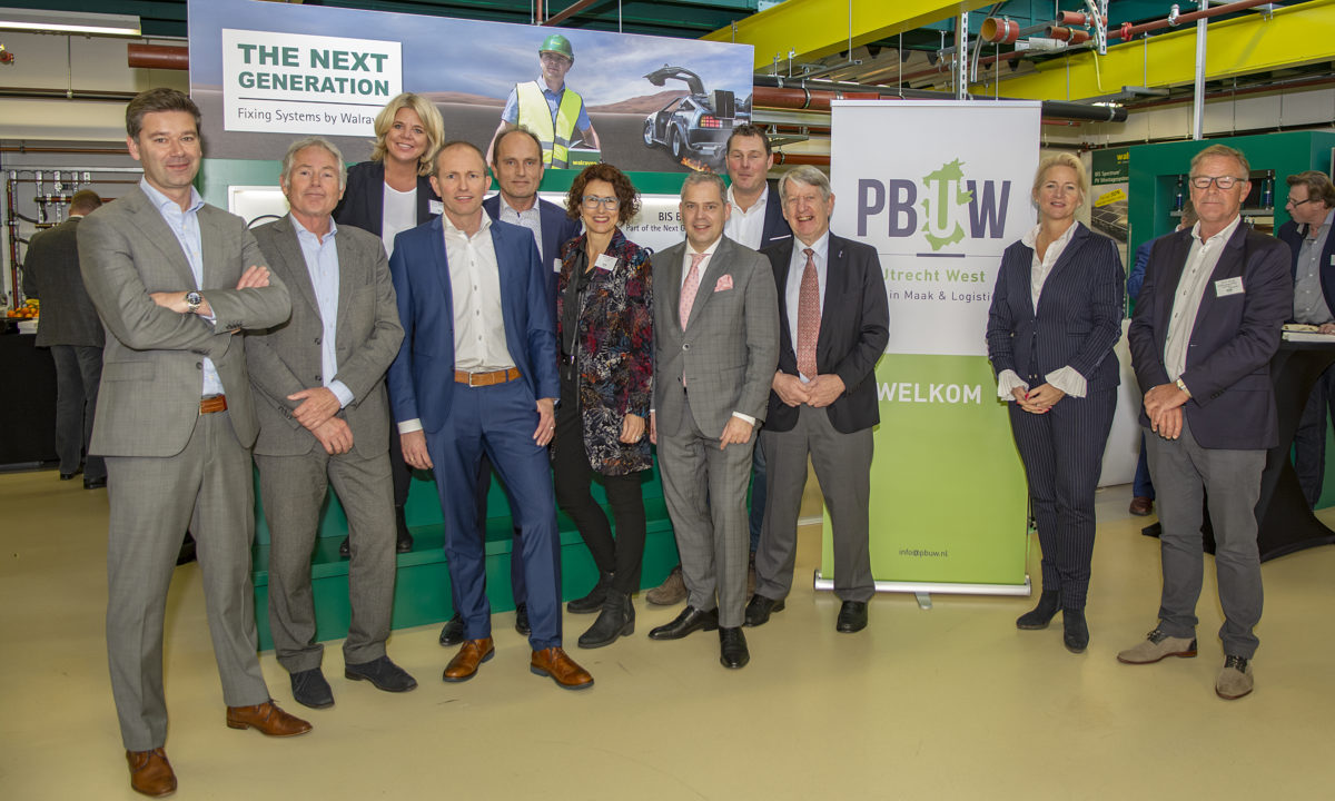 Regionale bestuurders in gesprek met ondernemers over herstructurering Utrecht West