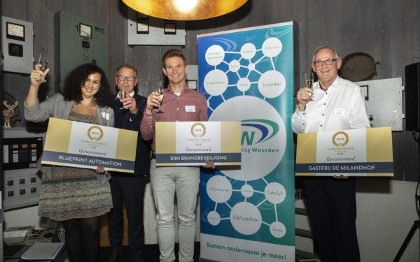 Drie opvallende ondernemers strijden om OKW Ondernemersprijs 2018