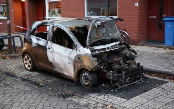 Opnieuw autobrand in Woerden