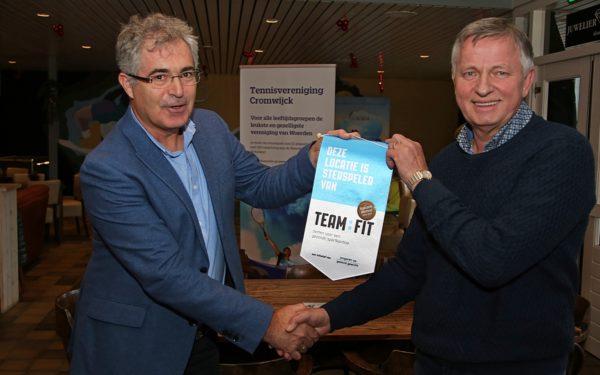 Tennisvereniging Cromwijck eerste gezonde sportkantine in Woerden
