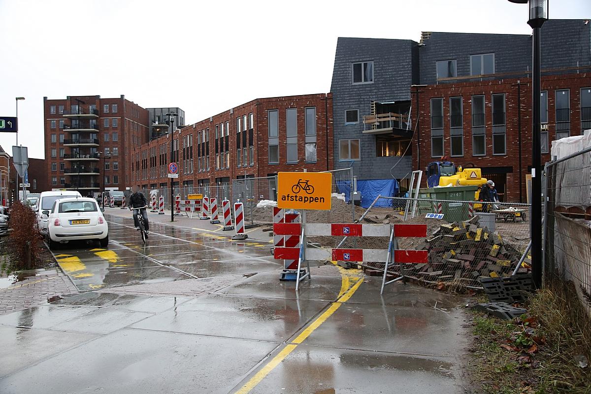 Maatregelen voor veiligheid fietsers Defensie-Eiland