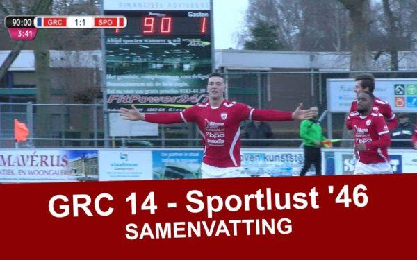 Sportlust '46 wint door wilskracht en nadert koppositie