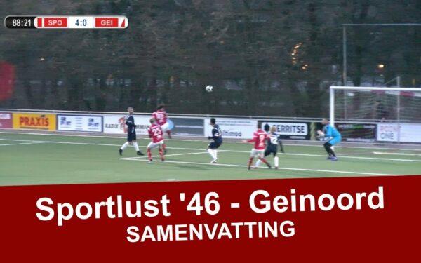 Sportlust '46 boekt zakelijke 5-0 overwinning