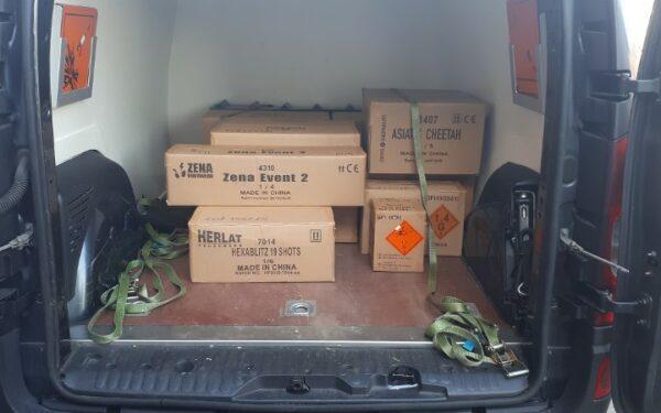 117 kilo vuurwerk naast school