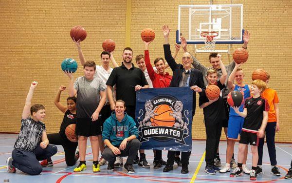 Basketball Oudewater kan nu ook wedstrijden spelen