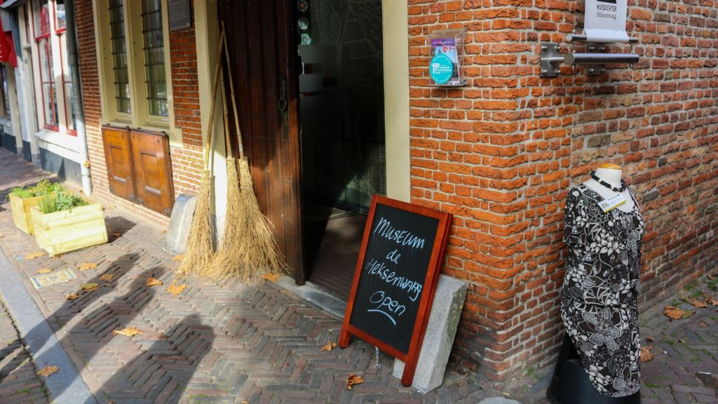 Directeur Museum de Heksenwaag in Oudewater met pensioen