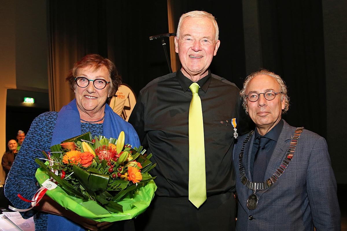 Koninklijke onderscheiding voor Ad Koolwijk